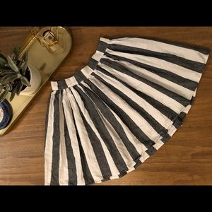 American Apparel Striped Skirt
